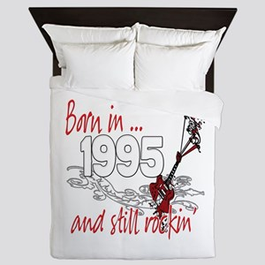 Born in 1995 Queen Duvet