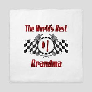 Racing Grandma Queen Duvet