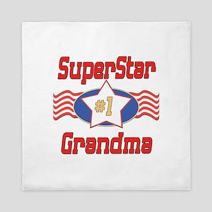 Superstar Grandma Queen Duvet