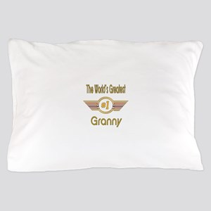 Number 1 Granny Pillow Case