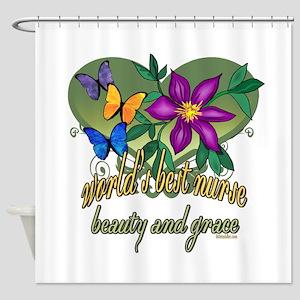 Beautiful Nurse Shower Curtain