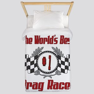 Drag Racer Twin Duvet