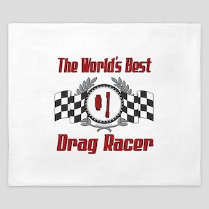 Drag Racer King Duvet