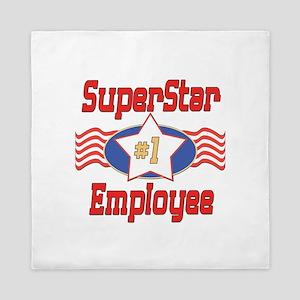Superstar Employee Queen Duvet