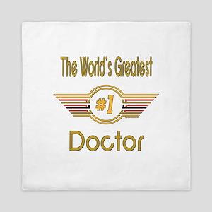 Number 1 Doctor Queen Duvet