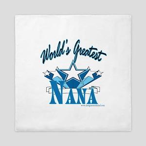 Greatest Nana Queen Duvet