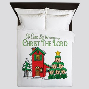Christmas Carol Series Queen Duvet