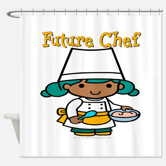 Future Chef Shower Curtain