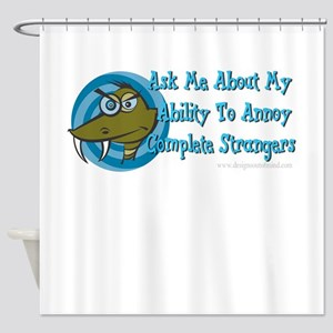 Snake Ability To Annoy Shower Curtain