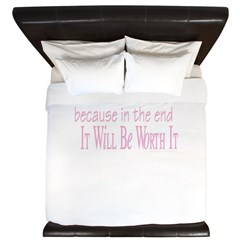 Worth It King Duvet