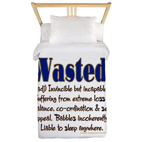 Wasted Twin Duvet