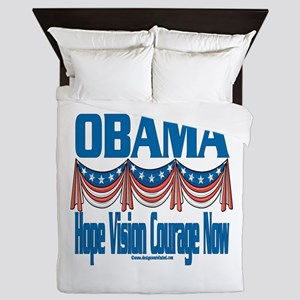 Obama Vision Queen Duvet