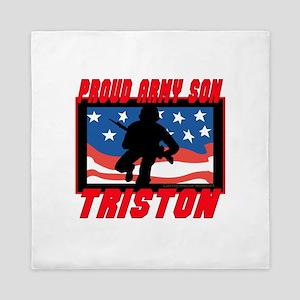 Triston Proud Son Queen Duvet