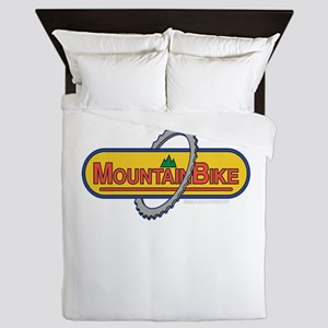 Mountain Bike Queen Duvet
