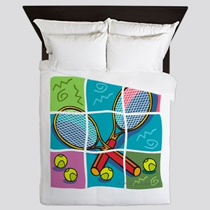 Tennis Fun Queen Duvet