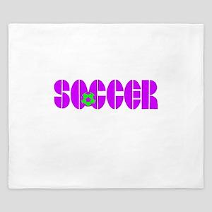 Soccer Chic King Duvet