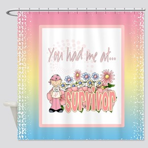 Cancer Survivor Shower Curtain