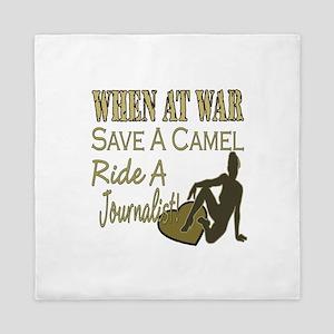 Save A Camel Queen Duvet
