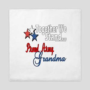 Army Grandma Queen Duvet