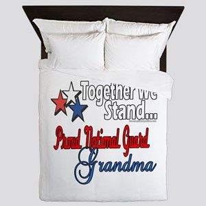 National Guard Grandma Queen Duvet