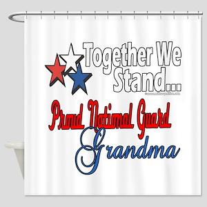 National Guard Grandma Shower Curtain