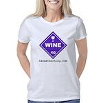 hazmat_10x10_dot_wine_1c   Women's Classic T-Shirt