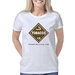 hazmat_10x10_dot_tobacco_1 Women's Classic T-Shirt