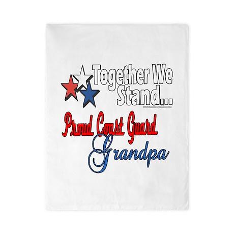 Coast Guard Grandpa Twin Duvet
