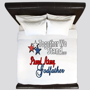 Army Godfather King Duvet