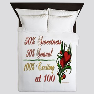 Exciting 100th Queen Duvet