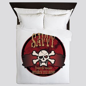 Savvy Jolly Roger Queen Duvet
