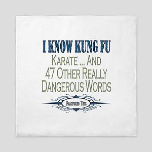 Kung Fu Queen Duvet
