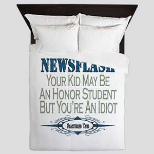 Honor Student Queen Duvet