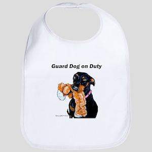 Guard Dog Doberman Bib
