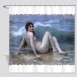 The Wave (Style B) Shower Curtain