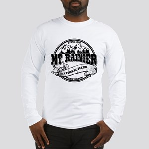 Mt. Rainier Old Circle Long Sleeve T-Shirt