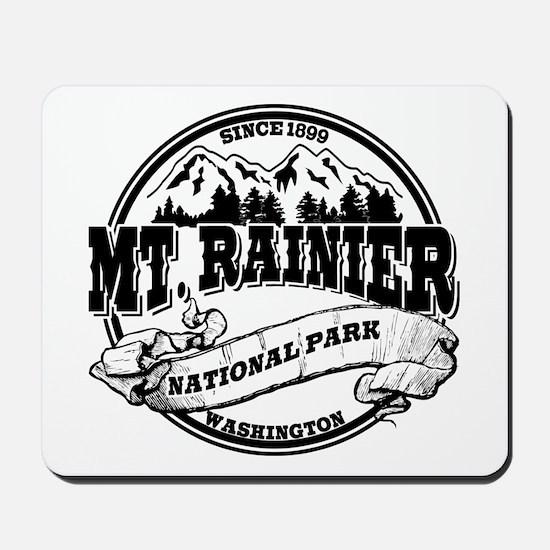 Mt. Rainier Old Circle Mousepad