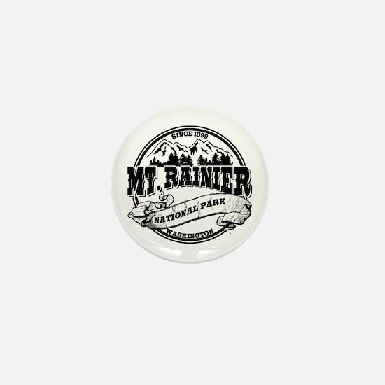 Mt. Rainier Old Circle Mini Button