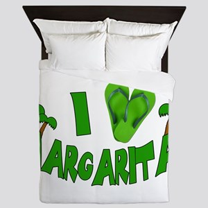 I love Margaritas Queen Duvet