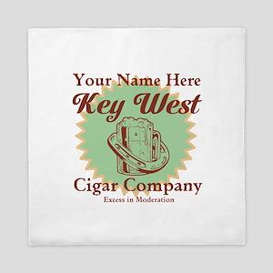 Key West Cigar Company Queen Duvet