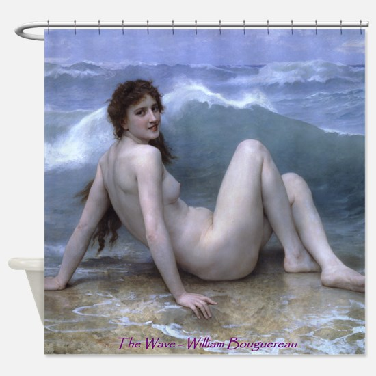 The Wave (Style D) Shower Curtain