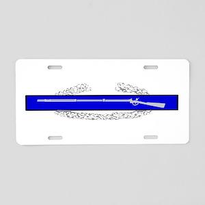 C.I.B. Aluminum License Plate