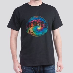 Mt. Rainier Old Circle Dark T-Shirt
