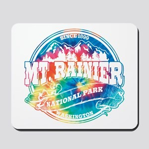Mt. Rainier Old Circle Mousepad