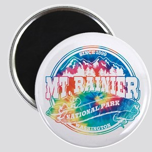 Mt. Rainier Old Circle Magnet