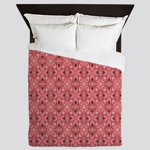 Beautiful Pink Print Queen Duvet