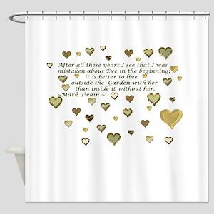 Loving Eve Shower Curtain