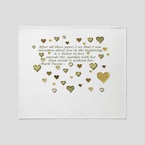 Loving Eve Throw Blanket