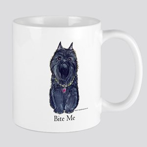 Brussels Bite Me Griffon Mug