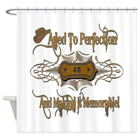Memorable 46th Shower Curtain